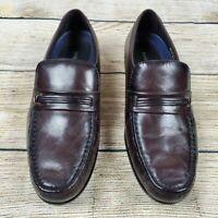 Bostonian Men's 12 Prescott Burgundy Slip-On Dress Shoe