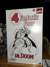 """Marvel Legends 6"""" Dr. Doom Retro Vintage Fantastic Four Sealed comic con only"""