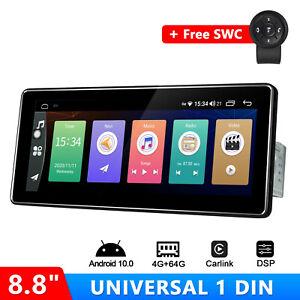 JOYING 8.8 Inch Android 10 Head Unit In Dash Car GPS Navi Free SWC with 4+64GB