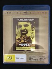 Duel 1971 Bluray Thriller Classic Limited OOP Spielberg Weaver Blu-ray Movie