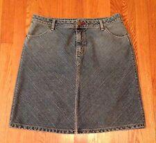 Women's CATO Denim Blue Jean Skirt Size 12