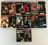 Lot of 14 Clint Eastwood VHS VCR action movies