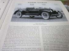 Internationales Automobil Archiv 1 Geschichte 1027a Kissel Automobile USA