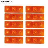 10x Arancione LED Luci di Ingombro 24volt Camion Roulotte Traino Telaio Trattore