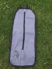 Ecotak showerproof bridle bag - grey and black Ecotak