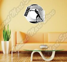 "Boxing Gloves Glove Ring Fight Sport Wall Sticker Room Interior Decor 22""X22"""