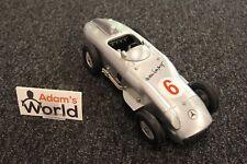 Märklin Mercedes-Benz W196 1:12 (?) #6 Hans Hermann (GER) Metal Clockwork Racer