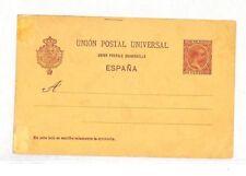 VV187 Spain Postal Stationery Postcard PTS
