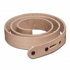 """Natural Cowhide Belt Blank 1-3/4"""" New 4509-00 Tandy Leather"""