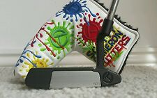 "SCOTTY CAMERON JAPAN TOUR BLACK MIST CIRCLE T """"GSS"""" CONCEPT 2 NEWPORT"