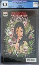 MARVEL ZOMBIES RESURRECTION #1 CGC 9.8 PEACH MOMOKO VARIANT COVER 1:50 2020