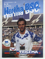 II. BL 91/92 Hertha BSC - Bayer 05 Uerdingen, 25.04.1992