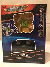 Nkok Air Banditz Radio Control Atom-X 2.4Ghz Micro Quadcopter Green