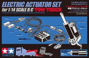 Tamiya 300056553 - 1:14 Acu-Hebeeinheit Towing Truck - New