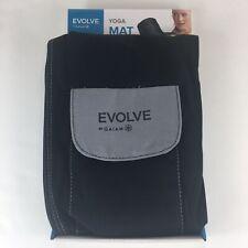 Evolve by Gaiam black yoga mat bag with shoulder strap, pockets, & full zip