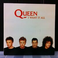 "Freddie Mercury - QUEEN - I want It All - Hang On In There 7"" vinyl POLYDOR 1988"