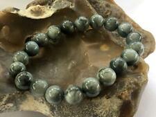 Grey Hawks Eye Natural Gemstone Bracelet Elasticated Beaded Jewelry gift