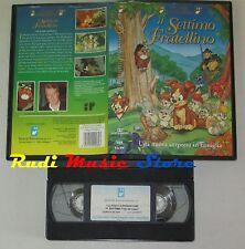 film VHS IL SETTIMO FRATELLINO classici d'animazione CLAUDIO LIPPI(F76)5*)no dvd