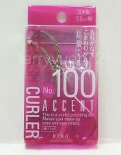 KOJI Eyelash Curler No.100 + Refill Pad 9.5mm Mini Accent JAPAN