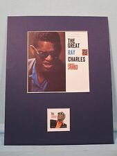 Saluting Blues Great - Ray Charles honored by his own stamp