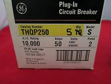 General Electric Circuit Breaker THQP250 Lot of 5
