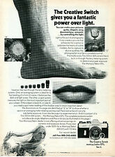 1972 Mamiya Sekor 1000 DTL Camera Print Ad