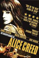 The Disappearance of Alice Creed  (DVD) DISC & COVER ART ONLY NO CASE