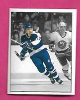 Wendel Clark Hockey Card 1987-88 Panini Stickers #330 Wendel Clark