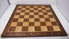 Elegante Scacchiera in legno noce ( casella 58 mm ) Chw33W