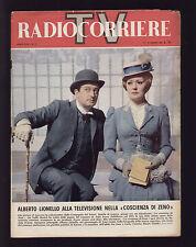 RADIOCORRIERE 11/1966 SABIN ELIO VITTORINI ZECCHINO D'ORO TORTORELLA VENTRE