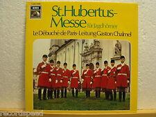 GASTON CHALMEL * St. Hubertus-Messe für Jagdhörner * EMI HMV *