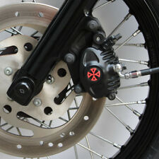 Bremssattel Cover 3D Harley Davidson Sportster Modelle Typ 2 / Kreuz Rot