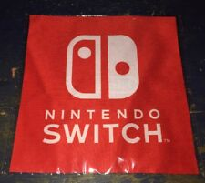 NINTENDO SWITCH PROMOTIONAL SCREEN CLEANING SOFT CLOTH PROMO Exclusive Rare