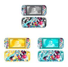 Ci-Yu-Online Miku #2 Vinyl Skin Decal Screen Protector for Nintendo Switch Lite