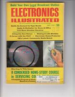 Electronics Illustrated Magazine July 1969 - Condensed Home Study Fix Color TV