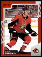 2020-21 UD O-Pee-Chee Red Border #42 Mike Reilly - Ottawa Senators