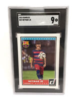 2015 Donruss Soccer #69 NEYMAR JR SGC 9 MINT, Brazil FC Barcelona PSG Low Pop 🔥