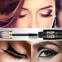 4D Silk Fiber Eyelashes Lash Mascara Waterproof Long Extension Long Last Make-Up