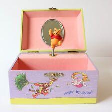 Disney Winnie the Pooh Jewelry Trinket Music Box Kreisler