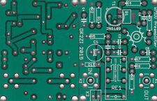 RX Antenna Vorverstärker  W7IUV Leiterplatte fuer 2N5109 oder DCP68