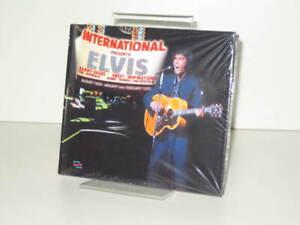 3 CD Buch Elvis Presley - International Presents Elvis (2021 MRS)