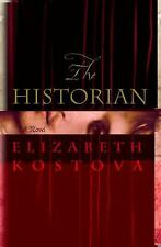 The Historian by Elizabeth Kostova(2005)looking for Dracula 1st,signed by author