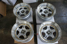"JDM 17"" pcd100X4 wheels meister sp1 Style professor Style miata civic accord S1"