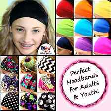 Stylish Woman Lady Wide Yoga Exercise Sport Elastic Headband Hair Band Headwear