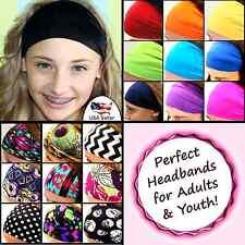 Women Boho Wide Headband Yoga Headwrap Nonslip Running Hairband Elastic Headband