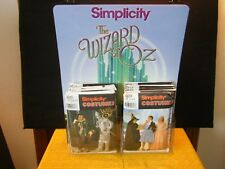 Wizard of Oz Simplicity Costume Patterns with Display