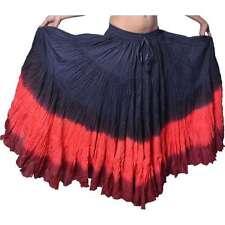 25 Yard Tribal Belly Dance Skirt UK PLUS SIZE UK 14 - 24 LONG LENGTH L40 inch