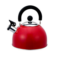 Home Basics® Stainless Steel Whistling Tea Kettle with Swivel Handle