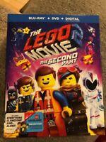 The LEGO Movie 2: The Second Part BLU RAY +DVD + DIGITAL +SLIPCOVER NEW + bonus
