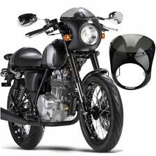"7"" Motorcycle Headlight Retro Cafe Racer Handlebar Fairing Windshield For Harley"